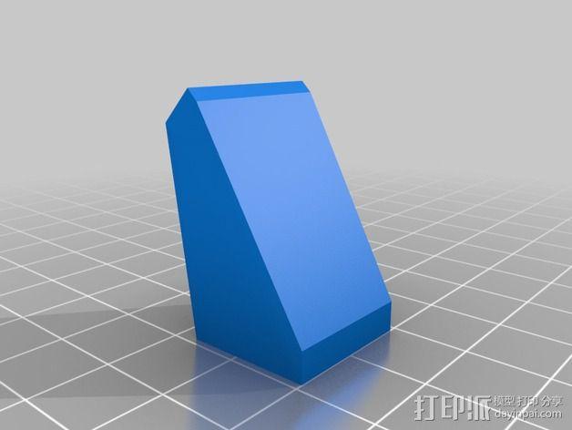 鼓风导管 风扇导管 3D模型  图2