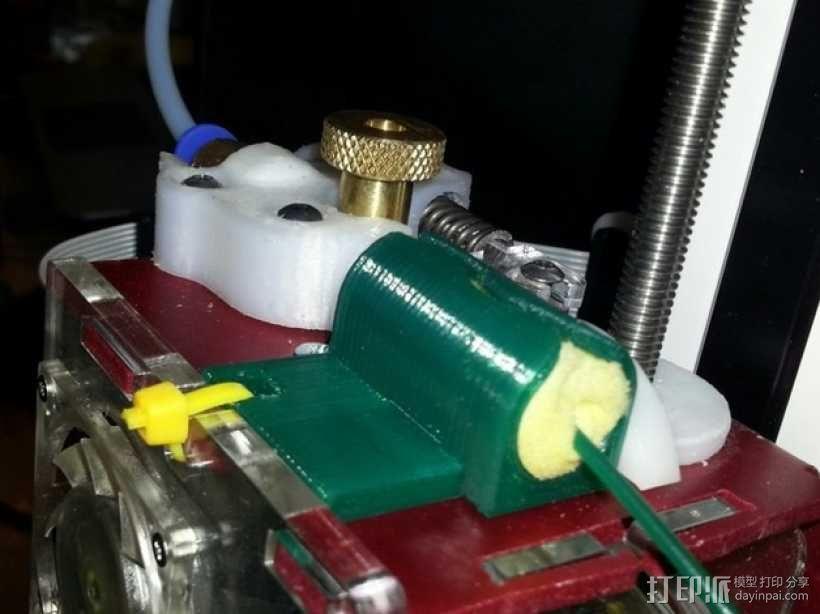 线材清洁器 3D模型  图1
