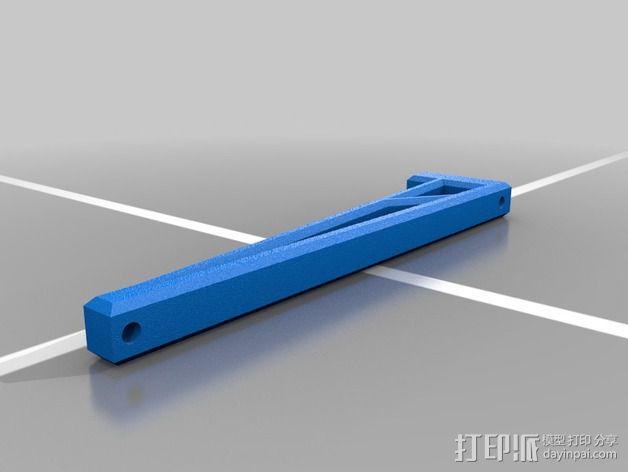 打印机线轴支架 3D模型  图3