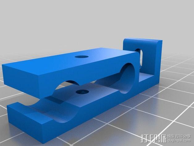 Prusa i3 打印机限位开关 3D模型  图2