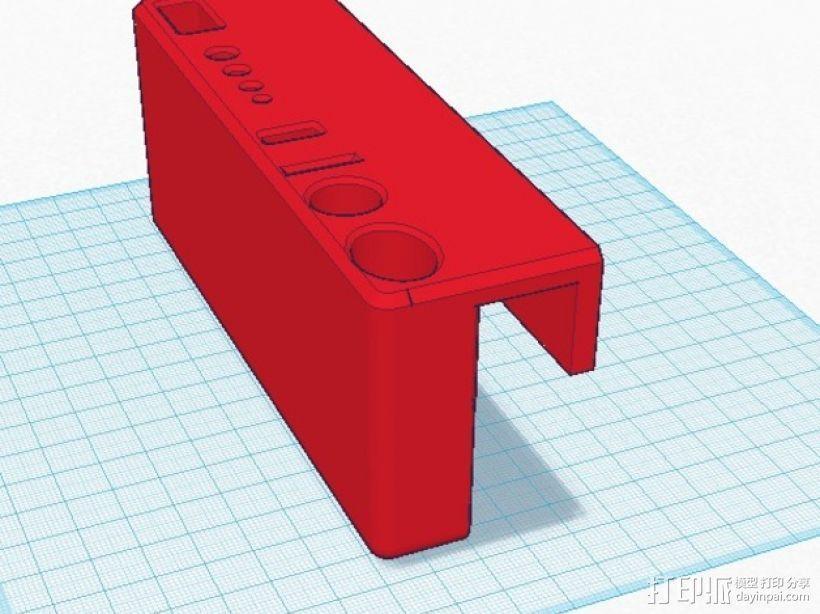 Rigidbot打印机工具架 3D模型  图1