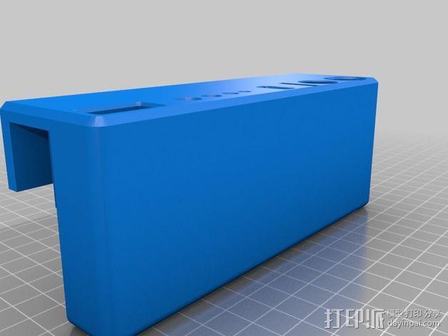 Rigidbot打印机工具架 3D模型  图2