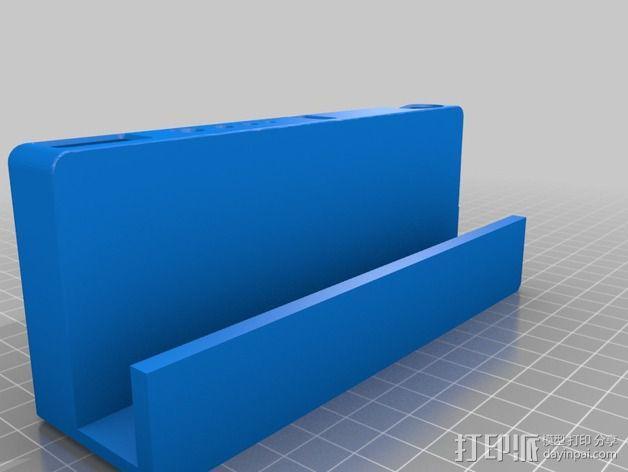 Rigidbot打印机工具架 3D模型  图3