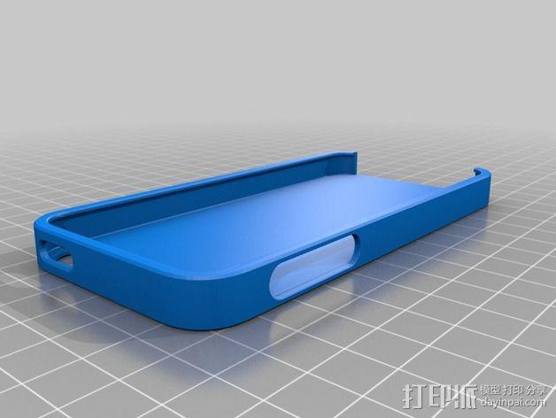 iPhone 5S手机外壳 3D模型  图1