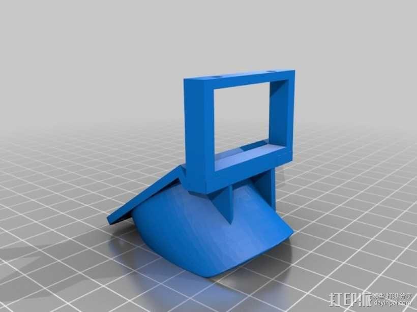 RigidBot打印机散热风扇 3D模型  图2