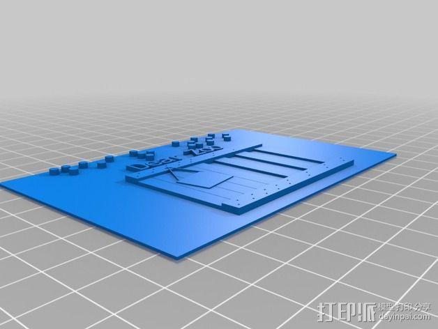 动物标本模型 3D模型  图2