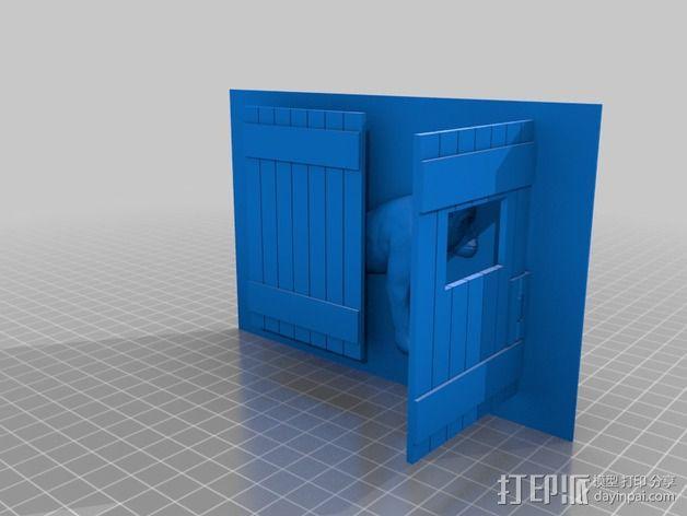 动物标本模型 3D模型  图4