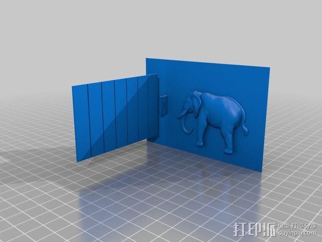 动物标本模型 3D模型  图5