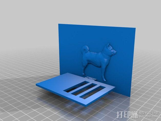 动物标本模型 3D模型  图7