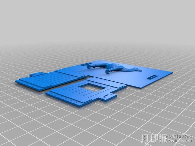 动物标本模型 3D模型  图8