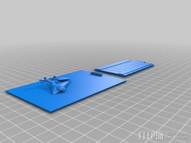 动物标本模型 3D模型  图9