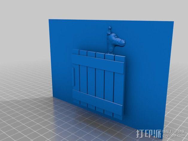 动物标本模型 3D模型  图10