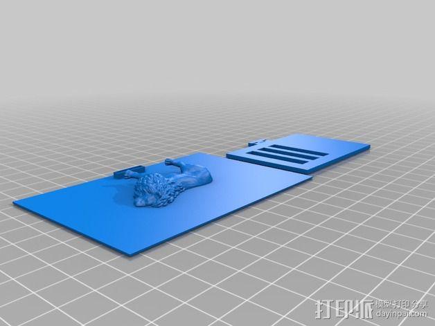 动物标本模型 3D模型  图11