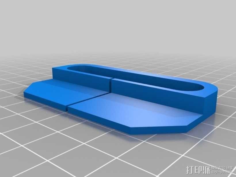 Creatr 打印机线材夹 导线器  3D模型  图1