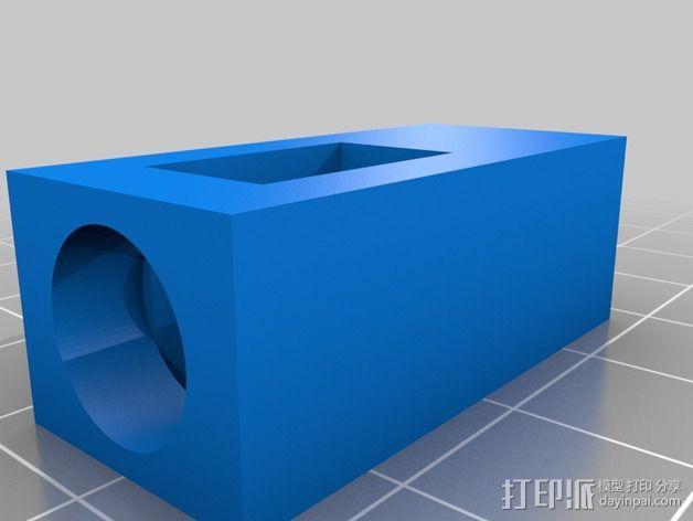 线材过滤器 3D模型  图2