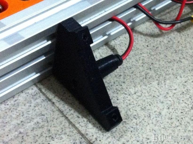 控制器液晶显示屏支架 3D模型  图5