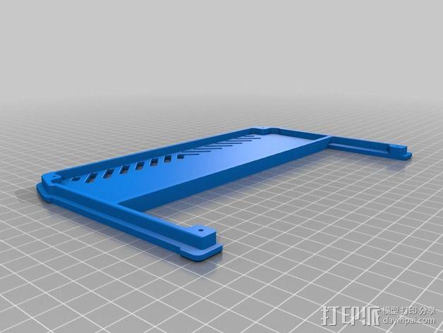 电源保护外盒 3D模型  图2