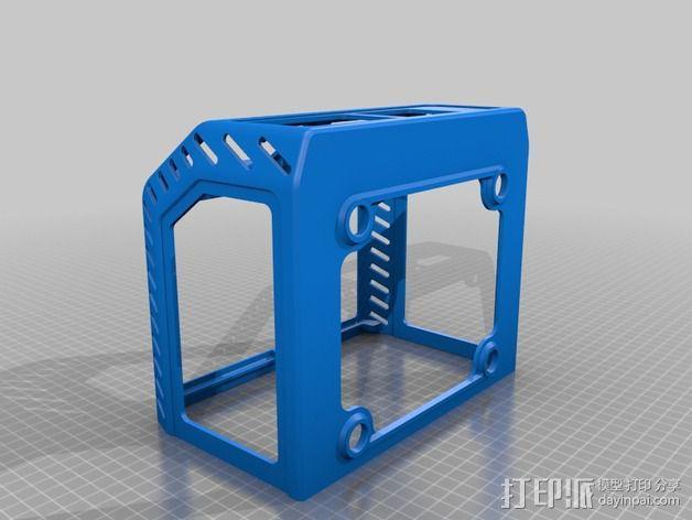 电源保护外盒 3D模型  图3