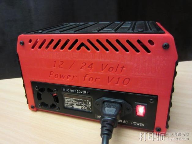 电源保护外盒 3D模型  图6