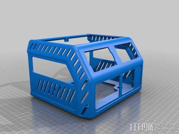 电源保护外盒 3D模型  图5