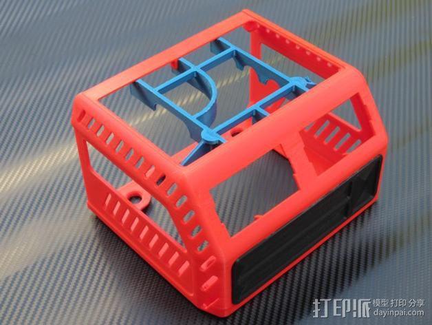电源保护外盒 3D模型  图7
