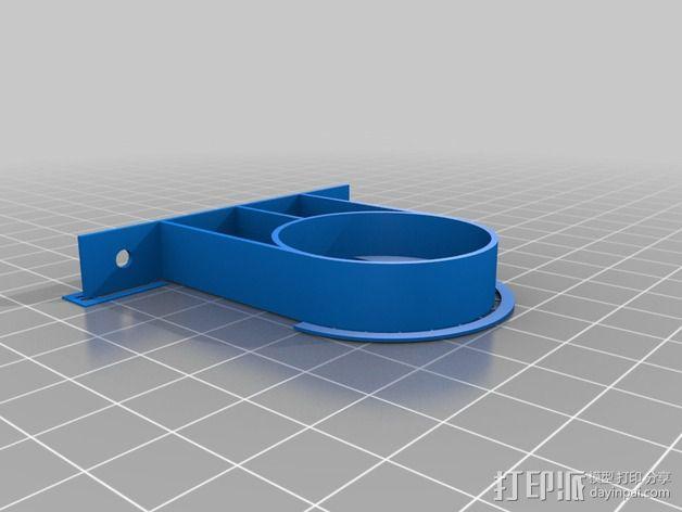 吸尘器配件 3D模型  图3
