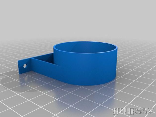 吸尘器配件 3D模型  图2