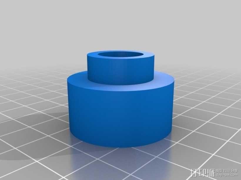 塑料卷纸架 3D模型  图2