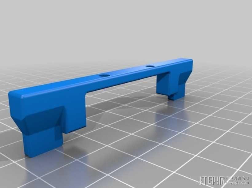 FlashForge Creator Pro 打印机风扇导管 3D模型  图3