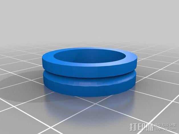 带槽惰轮 3D模型  图3
