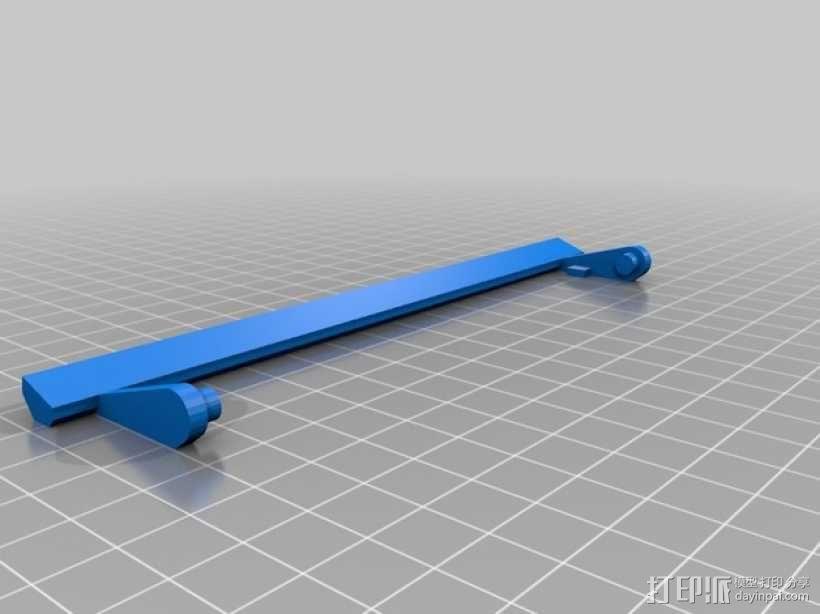 打印机光棒支架 3D模型  图2