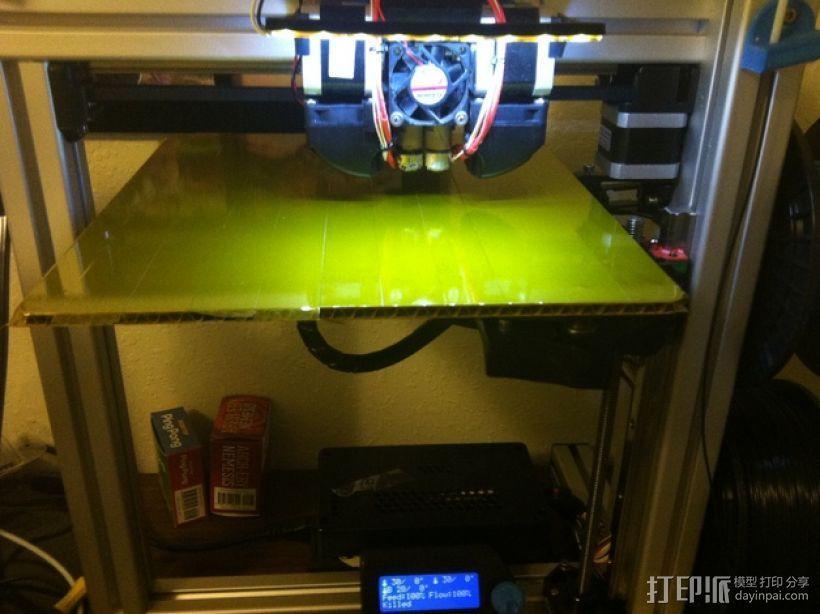 打印机光棒支架 3D模型  图7