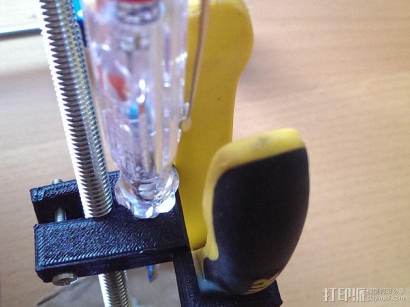 Prusa I2 打印机工具架 3D模型  图1