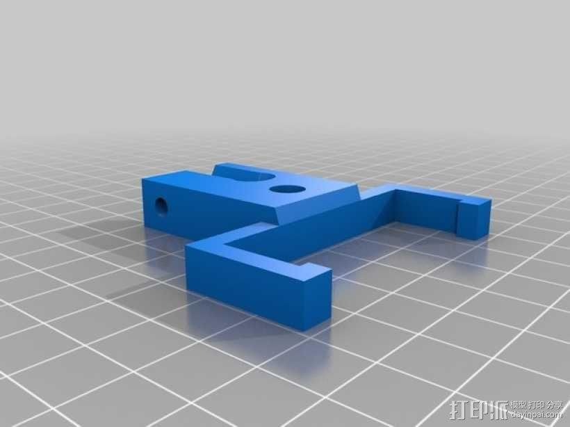 Prusa I2 打印机工具架 3D模型  图2
