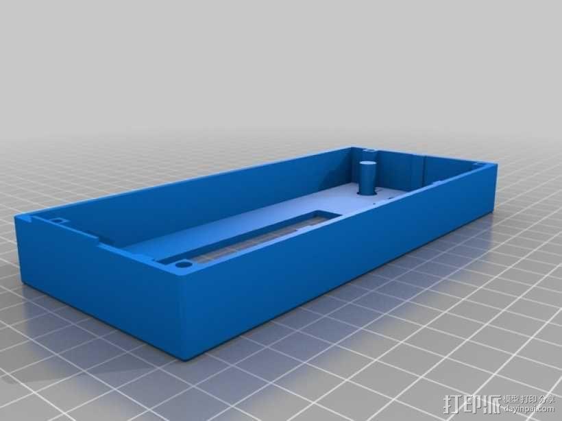 控制器液晶显示屏保护外盒 3D模型  图3