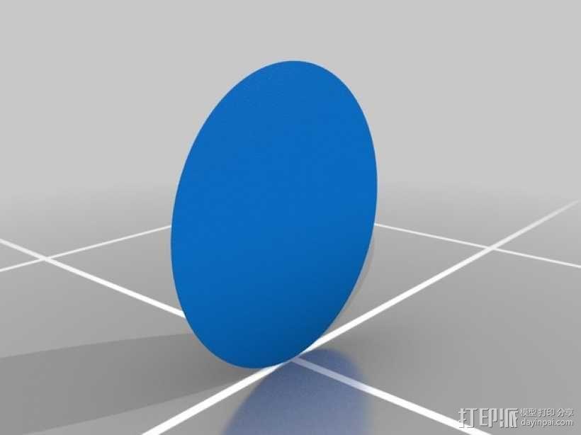 机器人 艺术轮 3D模型  图2