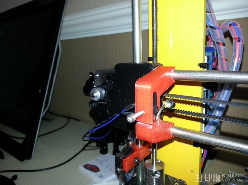 Prusa I3 x轴限位开关 3D模型  图1
