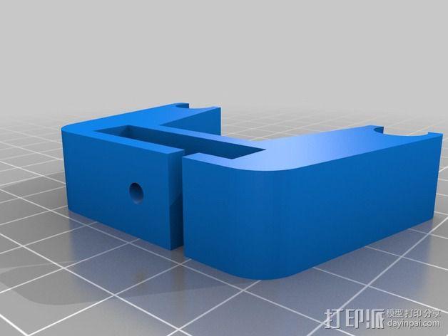Prusa I3 x轴限位开关 3D模型  图2