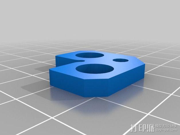 Lulzbot TAZ打印机Ninja Plate 套件 3D模型  图2