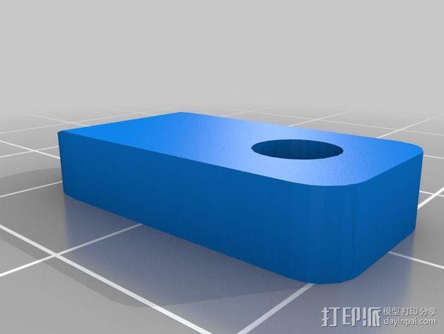 Lulzbot TAZ打印机Ninja Plate 套件 3D模型  图3