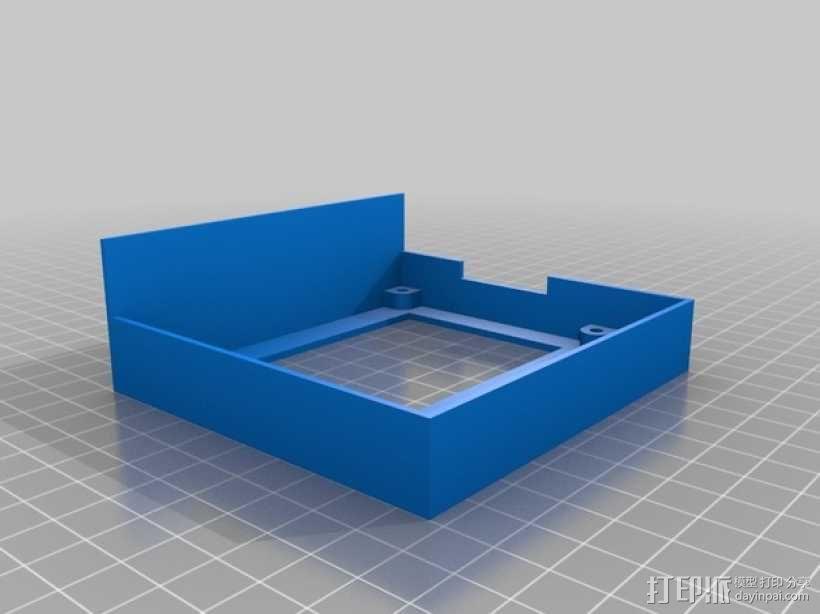 智能控制器外壳 3D模型  图4