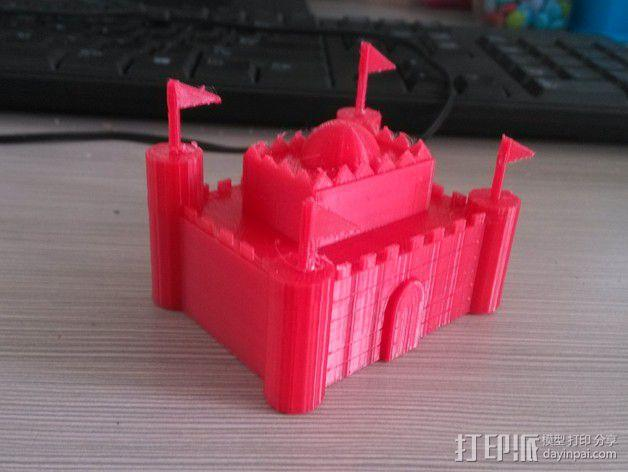 城堡 3D模型  图2