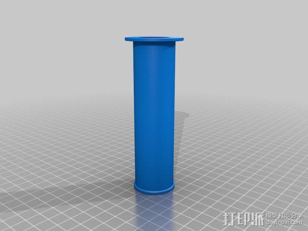 线支撑架 3D模型  图4