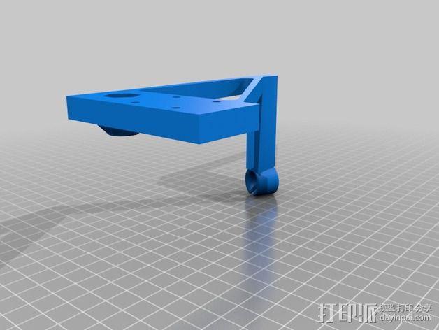线支撑架 3D模型  图5