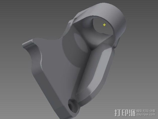 线支撑架 3D模型  图7