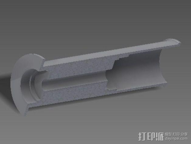 线支撑架 3D模型  图6