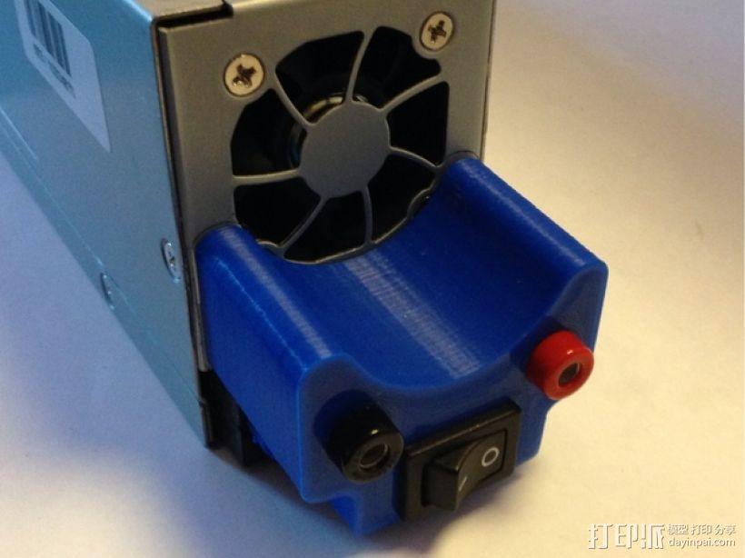 电源插头盖板  3D模型  图1