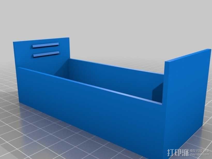 电源保护框 3D模型  图2