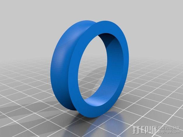 Prusa i3 线轴支架 3D模型  图3