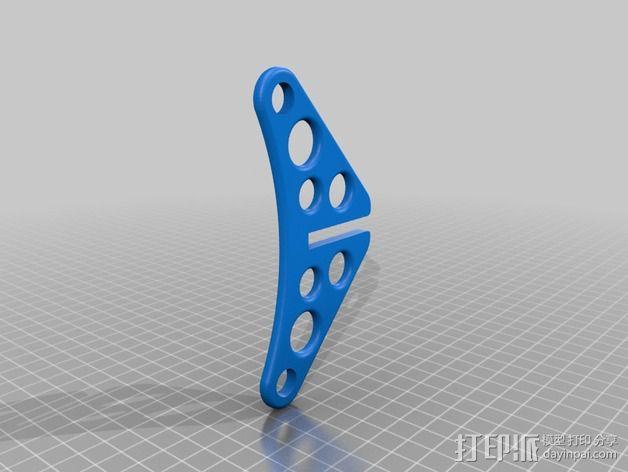 Prusa i3 线轴支架 3D模型  图4